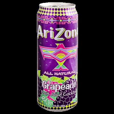 напиток ARIZONA Grapeade 680 мл  Ж/Б 1 уп.х 24 шт.