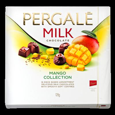 конфеты PERGALE MILK MANGO COLLECTION 128 г 1 уп. х 10 шт.