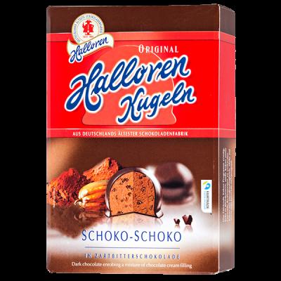конфеты HALLOREN Двойной Шоколад 125 г 1 уп.х 20 шт.