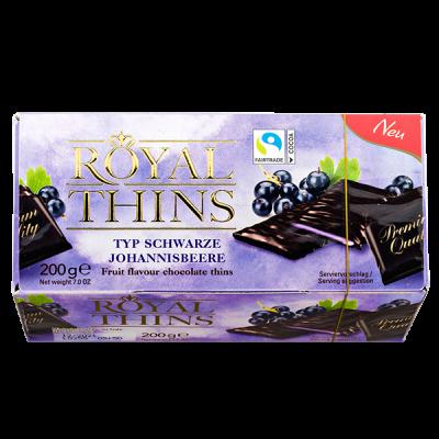 конфеты ROYAL THINS Черная Смородина 200 г 1уп. х 16 шт.
