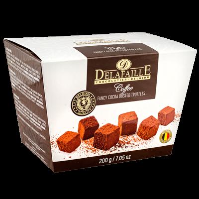 конфеты DELAFAILLE Truffles Coffee 200 г 1 уп.х 16 шт.