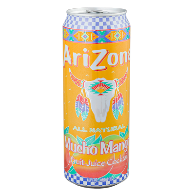 напиток ARIZONA Mucho Mango 340 мл  Ж/Б 1 уп.х 30 шт.