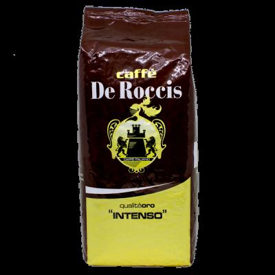кофе CAFFE DE ROCCIS ORO INTENSO 1 кг зерно 1 уп.х 6 шт.