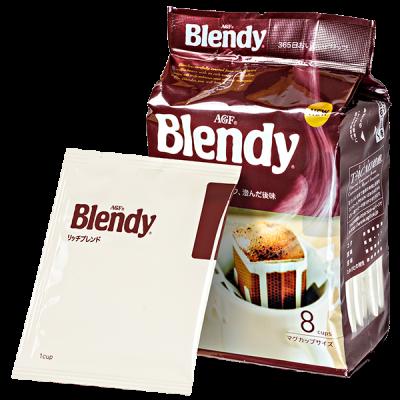 кофе AGF Blendy Рич молотый фильтр-пакет