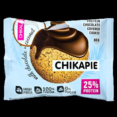 Печенье Chikapie глазированное Chocolate&Coconut 60 г 1 уп.х 9 шт.