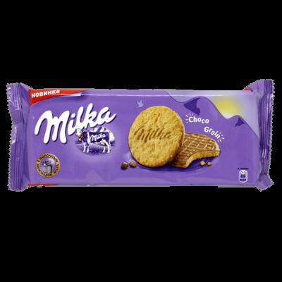печенье Милка Choco Grain 126 г 1 уп.х 20 шт.