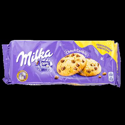 печенье Милка Choco Cookie 168 г 1 уп.х 14 шт.
