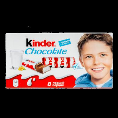 шоколад Киндер 100 г 1 уп.х 10 шт.