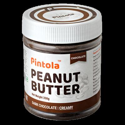 арахисовая паста PINTOLA Dark Chocolate Creamy 350 г 1 уп.х 12 шт.