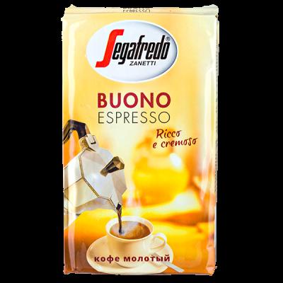 кофе SEGAFREDO BUONO ESPRESSO 250 г молотый 1 уп.х 20 шт.
