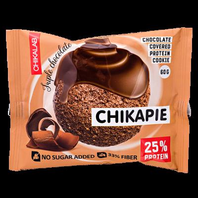 Печенье Chikapie глазированное Triple chocolate 60 г 1 уп.х 9 шт.
