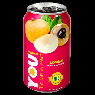 напиток YOU VIETNAM Longan 330 мл  Ж/Б 1 уп.х 24 шт.