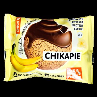 Печенье Chikapie глазированное Chocolate&Banana 60 г 1 уп.х 9 шт.