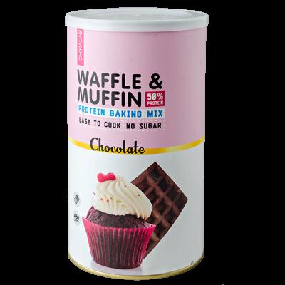 смесь CHIKALAB WAFFLE & MAFFIN Chocolate 480 г