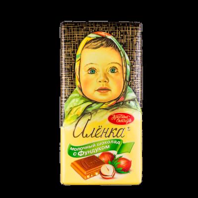 шоколад Аленка Фундук 100 г 1уп.х 14шт.