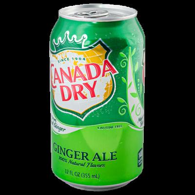Напиток CANADA DRY 330 мл ж/б 1 уп.х 24 шт.