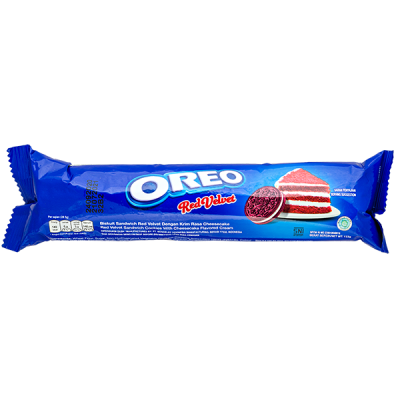 печенье Орео Red Velvet 123,5 г 1уп х 24 шт
