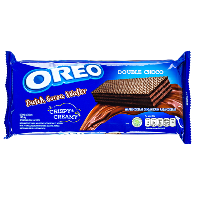 печенье Орео DUTCH COCOA WAFER Double Choco 140,4 г 1уп.х 24 шт.