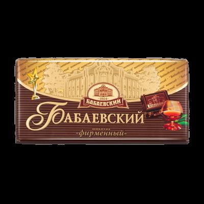 шоколад Бабаевский Фирменный 100 г 1уп.х 17 шт.