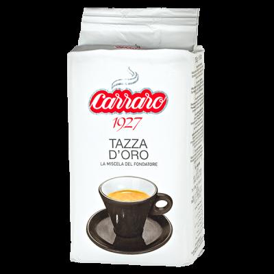 кофе CARRARO TAZZA D'ORO 250 г молотый 1 уп.х 20 шт.
