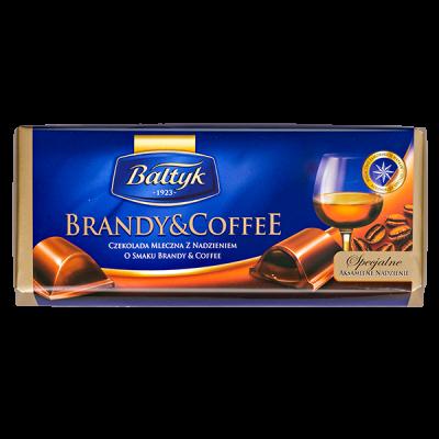 шоколад BALTYK Brandy&Coffee 145 г 1уп.х 12шт.