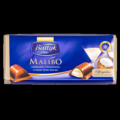 шоколад BALTYK Malibo 152 г 1уп.х 12шт.