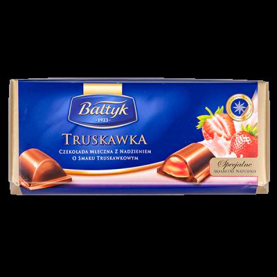шоколад BALTYK Truskawka 148 г 1уп.х 12шт.