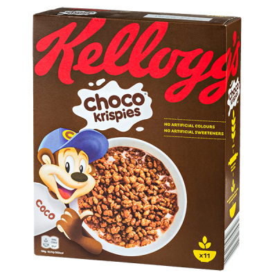 Сухой завтрак KELLOGG'S Choco Krispies 330 г 1 уп. х 10 шт.