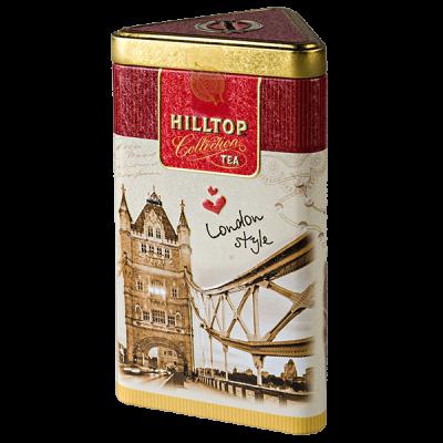 чай HILLTOP подарочный трехгранник 'Прогулки по Лондону' ж/б 80 г 1 уп.х 14 шт.