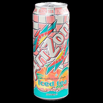 напиток ARIZONA Iced Tea with Peach Flavor 680 мл  Ж/Б 1 уп.х 24 шт.