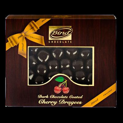 конфеты BIND CHOCOLATE Cherry Dragees 100 г 1 уп.х 12 шт.