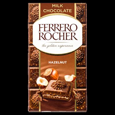 шоколад FERRERO ROCHER Hazelnut 90 г 1уп.х 8 шт.