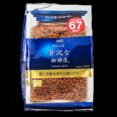 кофе AGF MAXIM LUXURIOUS растворимый 135 г м/у