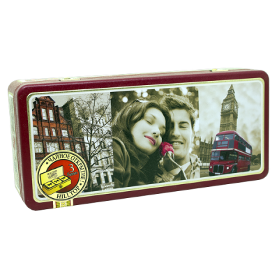 чай HILLTOP жестяная шкатулка набор 'Прогулки по Лондону' 150 г 1 уп.х 8 шт.