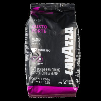 кофе LAVAZZA GUSTO FORTE 1 кг зерно 1 уп.х 6 шт.