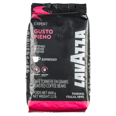 кофе LAVAZZA GUSTO PIENO 1 кг зерно 1 уп.х 6 шт.