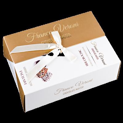 конфеты Franco Veroni ЭКСКЛЮЗИВ ЗОЛОТО 190 г 1 уп.х 12 шт.