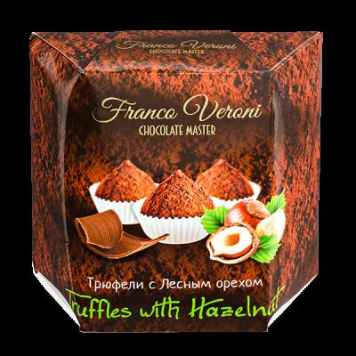 конфеты Franco Veroni Truffles Hazelnut  200 г 1 уп.х 12 шт.
