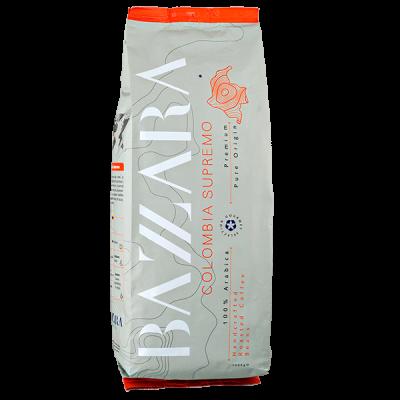 кофе BAZZARA COLOMBIA SUPREMO 1кг зерно