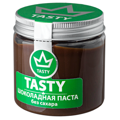 шоколадная паста Tasty без сахара 100 г 1 уп.х 18 шт.
