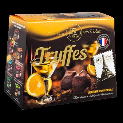 конфеты MATHEZ PoD'Aree Трюфель с ликером Cointreau 160 г 1 уп.х 12 шт.