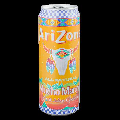 напиток ARIZONA Mucho Mango 680 мл  Ж/Б 1 уп.х 24 шт.