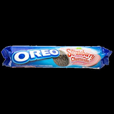 печенье Орео Strawberry Cheesecake 154 г 1уп* 16 шт