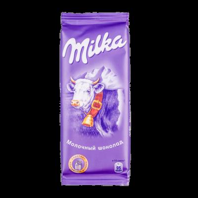 шоколад Милка Молочный 85 г 1уп.х 20шт