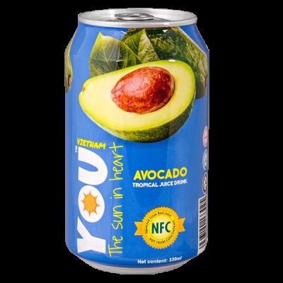 напиток YOU VIETNAM Avocado 330 мл  Ж/Б 1 уп.х 24 шт.
