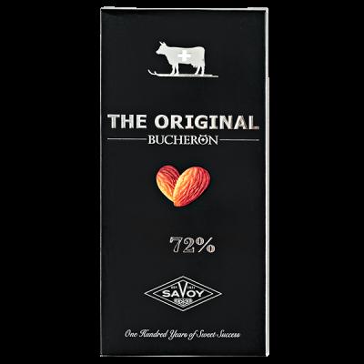 шоколад THE ORIGINAL 72% Горький c миндалем 100 г 1уп.х 10шт.