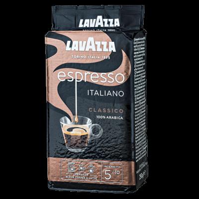 кофе LAVAZZA ESPRESSO ITALIANO CLASSICO 250 г молотый 1 уп.х 20 шт.