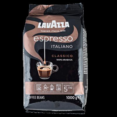 кофе LAVAZZA ESPRESSO ITALIANO CLASSICO 1 кг зерно 1 уп.х 6 шт.