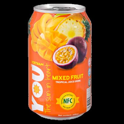 напиток YOU VIETNAM Mixed Fruit 330 мл  Ж/Б 1 уп.х 24 шт.
