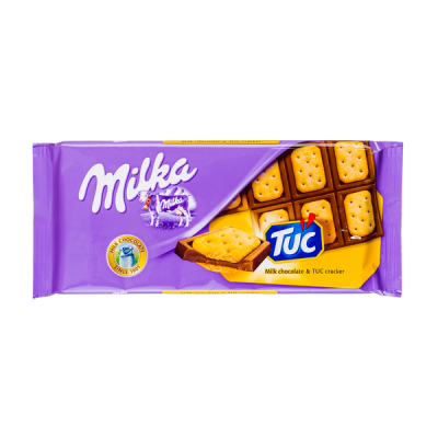 шоколад Милка Крекер Тук 87 г 1 уп.х 18 шт.